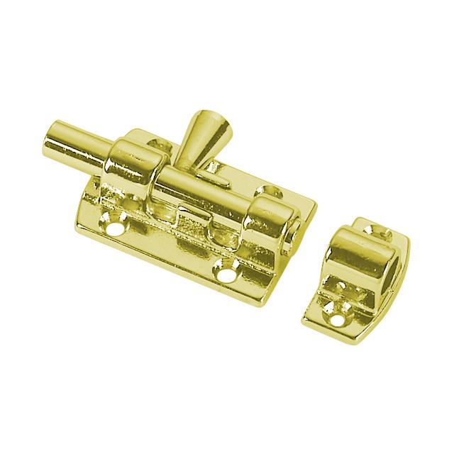 Door Stop Magnetic Brass Brass Buff Yellow Brand Foresti E Suardi