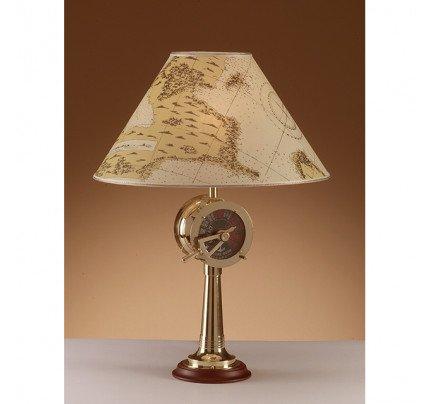 Foresti e Suardi-FS2329.LP-Lampada da tavolo in ottone giallo Lucido E27 Pergamena-20