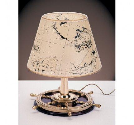 Foresti e Suardi-FS2281.LP-Lampada da tavolo in ottone giallo Lucido E27 Pergamena-20