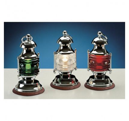Foresti e Suardi-FS2372.C.TK-Lampada da tavolo in ottone argento Cromato E14 Rosso TEAK-20