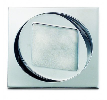 OCTANS BOREALIS Q in ottone argento Cromato Alogena