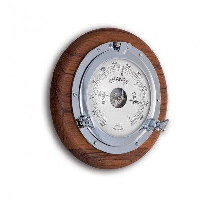 Foresti e Suardi-FS2088.C.TK-Oblò con barometro in ottone argento Cromato TEAK-20
