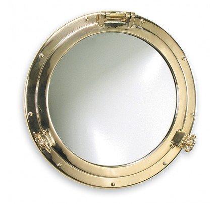 Foresti e Suardi-FS2000S.L-Oblò con specchio (Ø470) in ottone giallo Lucido Ø 470 x Ø 350 mm-20