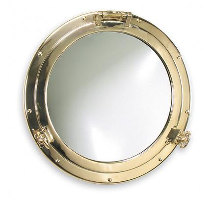 Foresti e Suardi-FS2001S.L-Oblò con specchio (Ø300) in ottone giallo Lucido Ø 300 x Ø 205 mm-20