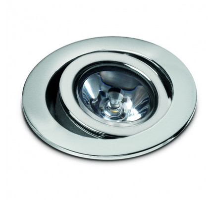 Foresti e Suardi-FS8545.C.3200-PHOENIX B in ottone argento Cromato Power LED 1 .3200 °K Marrone-20