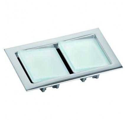 Foresti e Suardi-FS8561.C.3200-KEPLERO II in ottone argento Cromato Power LED 3 .3200 °K Bianco-20