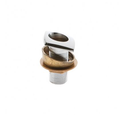 Foresti e Suardi-FS4196.C-Boccola fissaggio 15° per doccetta 4190 in ottone argento Cromato-20