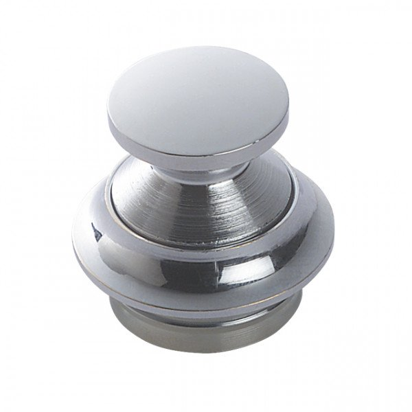 Foresti e Suardi-FS302.C-Pulsanti in ottone in ottone argento Cromato 19 mm-30