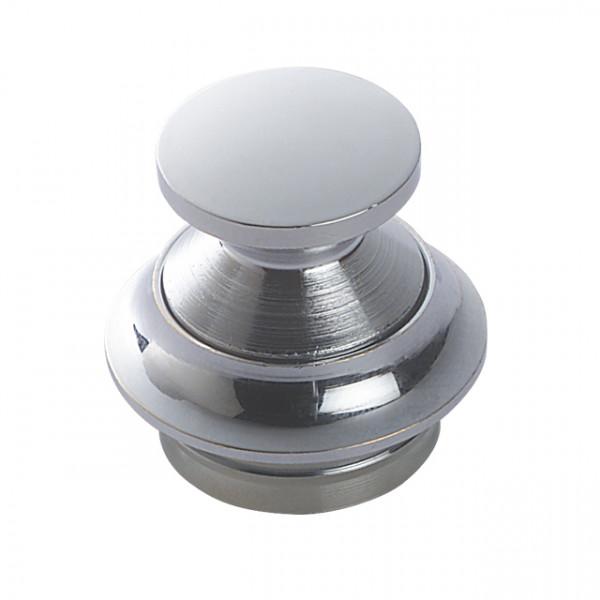 Foresti e Suardi-FS303.C-Pulsanti in ottone in ottone argento Cromato 23 mm-30