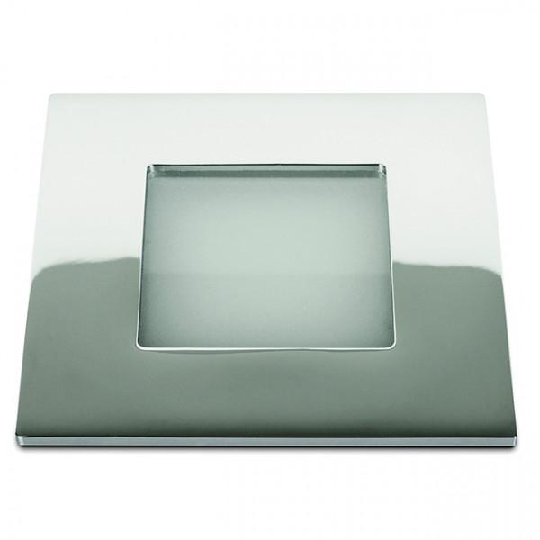 Foresti e Suardi-FS5087.SMD.C.3200-SEXTANS BIG Q in ottone argento Cromato LED .3200 °K Bianco-30