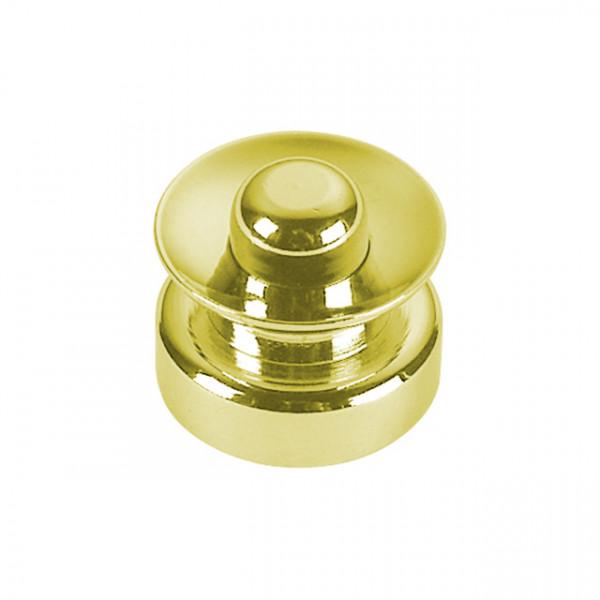 Foresti e Suardi-FS246B.L-Pulsanti per portelli e cassetti in ottone giallo Lucido-30