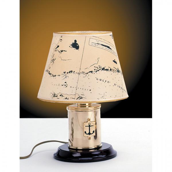 Foresti e Suardi-FS2283.LP-Lampada da tavolo in ottone giallo Lucido E27 Pergamena-30