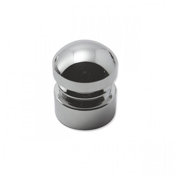 Foresti e Suardi-FS283.C-Pomoli per portelli e cassetti in ottone argento Cromato Ø 15 mm-30