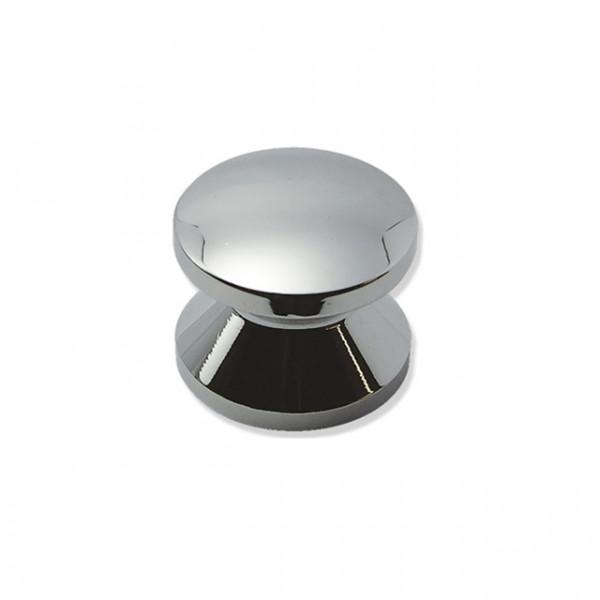 Foresti e Suardi-FS282.C-Pomoli per portelli e cassetti in ottone argento Cromato Ø 23 mm-30