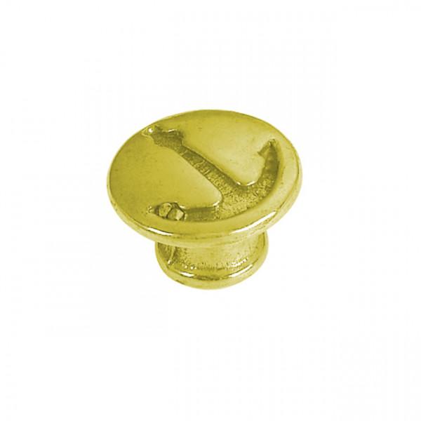 Foresti e Suardi-FS102B.L-Pomoli per portelli e cassetti in ottone giallo Lucido Ø 23 mm-30