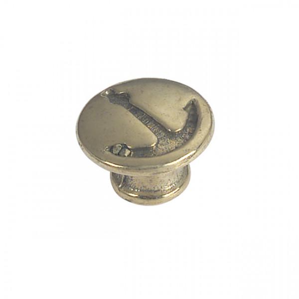 Foresti e Suardi-FS102B.C-Pomoli per portelli e cassetti in ottone argento Cromato Ø 23 mm-30