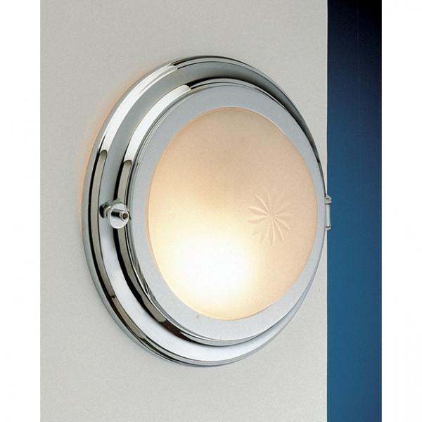 Foresti e Suardi-FS2407.VS.3000-Lampada applique in ottone argento Cromato Power LED S Sabbiato-30