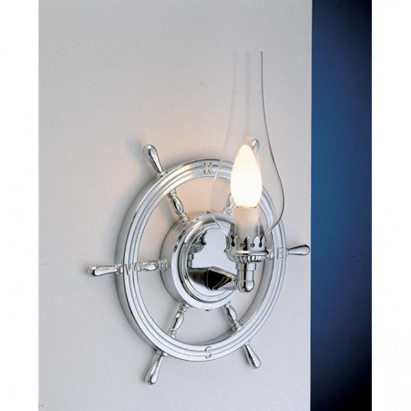Foresti e Suardi-FS2235.CT-Lampada applique in ottone argento Cromato E14 T Trasparente-30