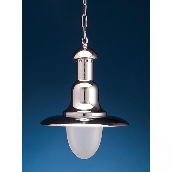 Foresti e Suardi-FS2190.CS-Lampada da soffitto (Ø 350) in ottone argento Cromato E27 S Sabbiato-30