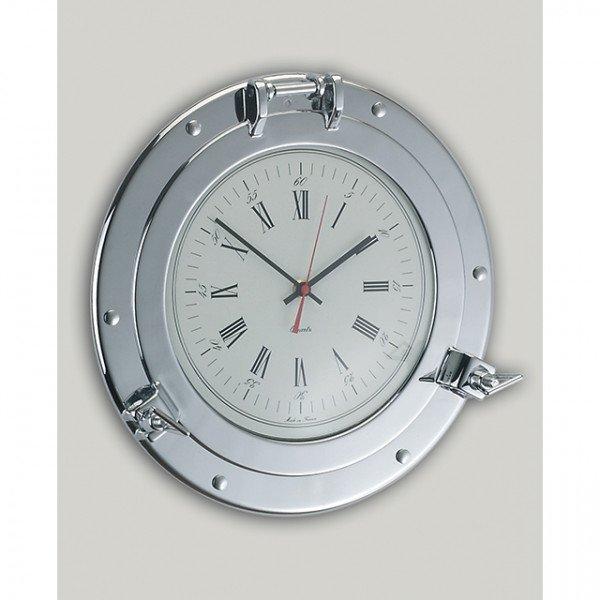 Foresti e Suardi-FS2291.C-Oblò con orologio in ottone argento Cromato Ø 210 x Ø 160 mm-30