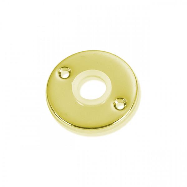 Foresti e Suardi-FS176A.L-Piastrine con boccola in nylon in ottone giallo Lucido-30