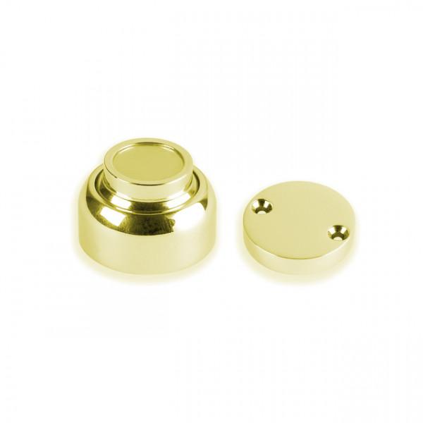Foresti e Suardi-FS410.L-Fermaporta magnetici in ottone in ottone giallo Lucido-30