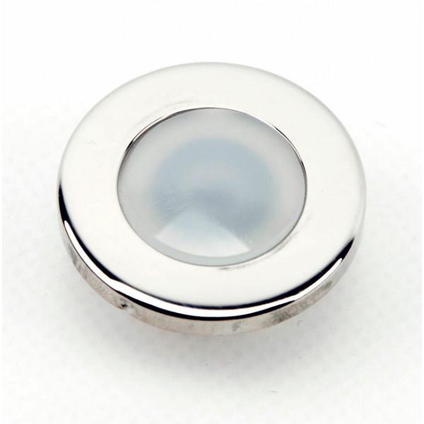 Foresti e Suardi-FS5555.I.B-ALPHARD T Inox lucido LED Blu LED 10/30 Vdc-30