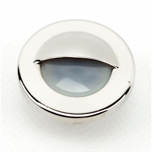 Foresti e Suardi-FS5556.I.P3200-ALPHARD V Inox lucido Power LED 1 .3200 °K PowerLed Bianco LED 10/30 Vdc-30