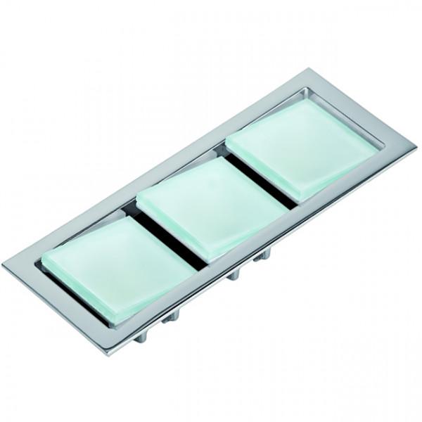 Foresti e Suardi-FS8562.C.3200-KEPLERO III in ottone argento Cromato Power LED 3 .3200 °K Bianco-30