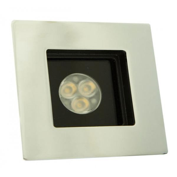 Foresti e Suardi-FS5181.C.R-PROMETEO QM in ottone argento Cromato Power LED Rosso LED 10/30 Vdc-30