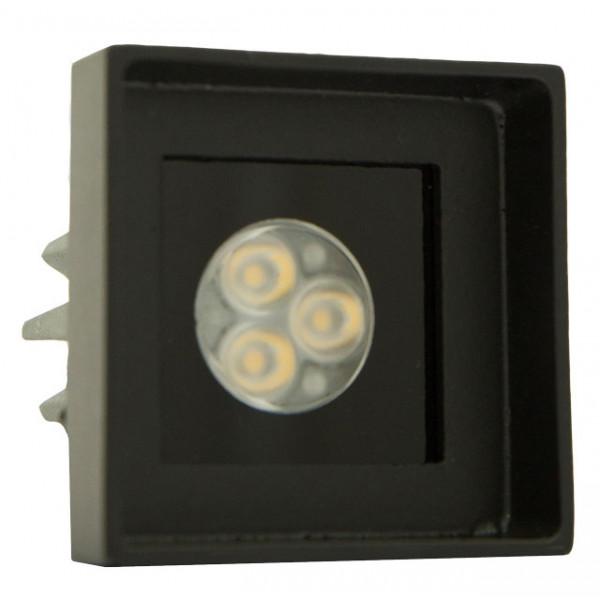 Foresti e Suardi-FS5186.VN.4000.9-PROMETEO QRM Verniciato Nero Power LED .4000 °K Bianco LED 10/30 Vdc-30