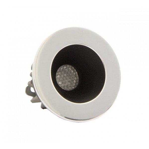 Foresti e Suardi-FS5292.C.R-PLUTONE TP in ottone argento Cromato Power LED Rosso LED 10/30 Vdc-30
