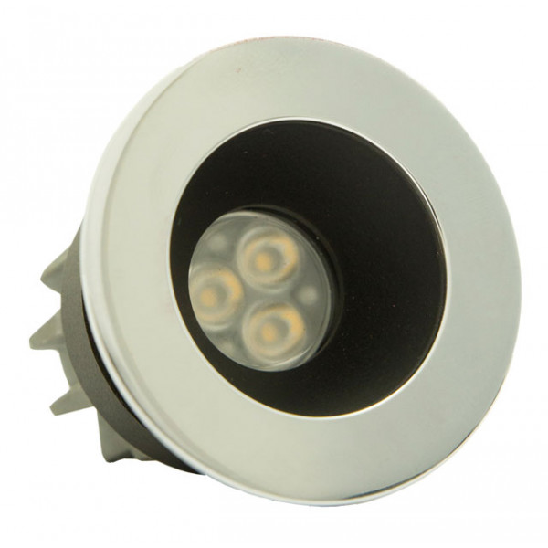 Foresti e Suardi-FS5290.C.2700.9N-PLUTONE TG in ottone argento Cromato Power LED .2700 °K Bianco LED 10/30 Vdc-30