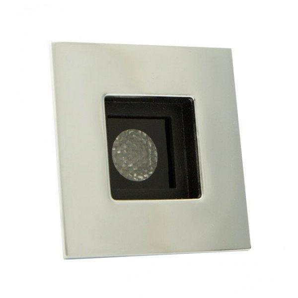 Foresti e Suardi-FS5182.C.R-PROMETEO QP in ottone argento Cromato Power LED Rosso LED 10/30 Vdc-30