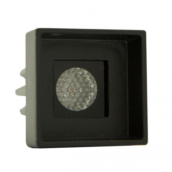 Foresti e Suardi-FS5187.VN.R-PROMETEO QRP Verniciato Nero Power LED Rosso LED 10/30 Vdc-30