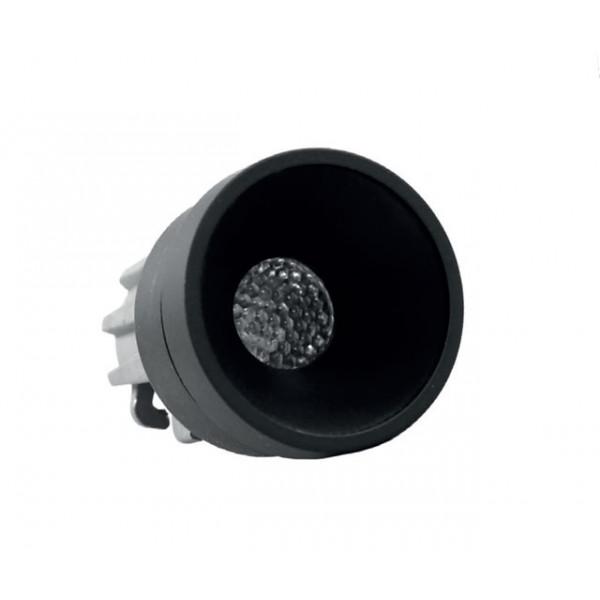 Foresti e Suardi-FS5295.VN.3200.9N-PLUTONE TRP Verniciato Nero Power LED .3200 °K Bianco LED 10/30 Vdc-30