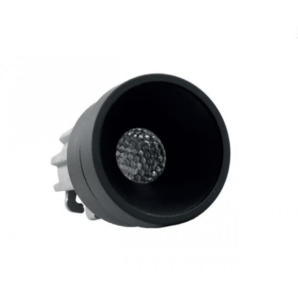 Foresti e Suardi-FS5295.VN.4000.9EL-PLUTONE TRP Verniciato Nero Power LED .4000 °K Bianco LED 10/30 Vdc-30
