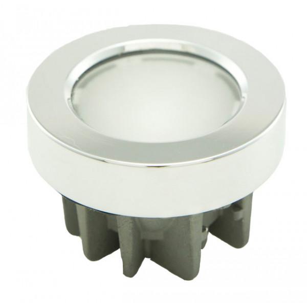 Foresti e Suardi-FS6025.C.4000.WR-SEXTANS TP in ottone argento Cromato Power LED 3 .4000 °K Bianco-Rosso LED 10/30 Vdc-30