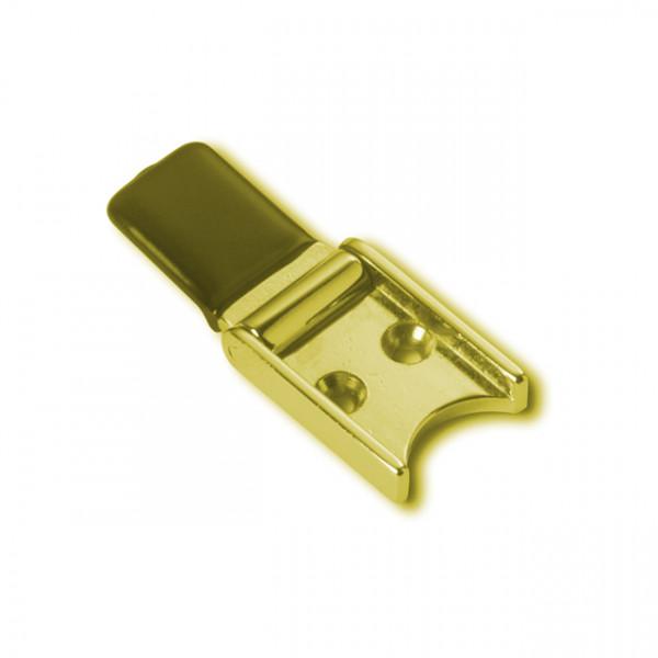 Foresti e Suardi-FS385.L-Fermaporta in ottone in ottone giallo Lucido-30