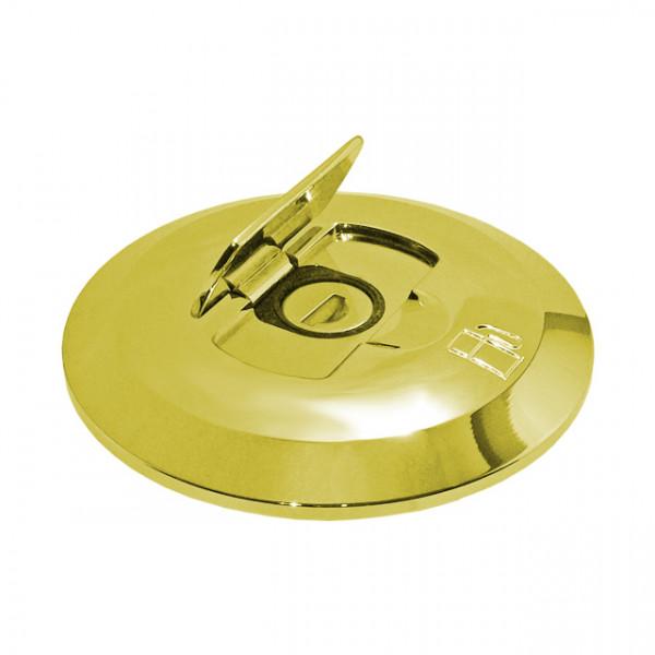 Foresti e Suardi-FSTAPPO.504D.L-Tappo con serratura in ottone giallo Lucido Waste-30