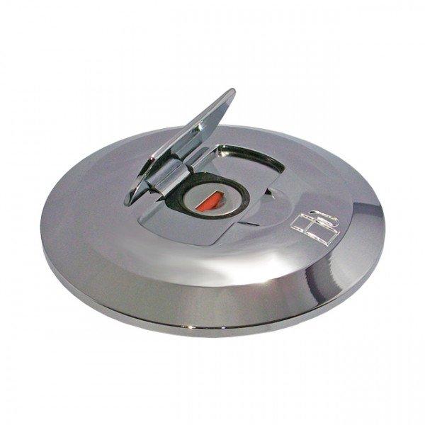 Foresti e Suardi-FSTAPPO.504C.C-Tappo con serratura in ottone argento Cromato Diesel-30