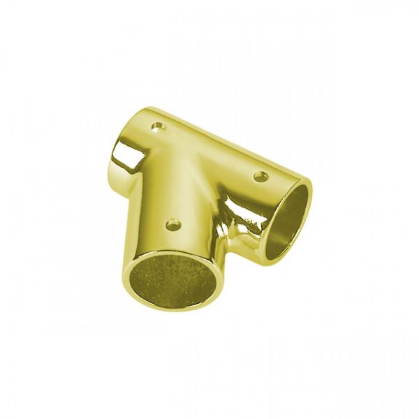 Foresti e Suardi-FS143A.DX.L-Supporto in ottone in ottone giallo Lucido Destro Ø 25 mm-30