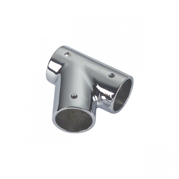 Foresti e Suardi-FS50A.DX.C-Supporto in ottone in ottone argento Cromato Destro Ø 22 mm-30