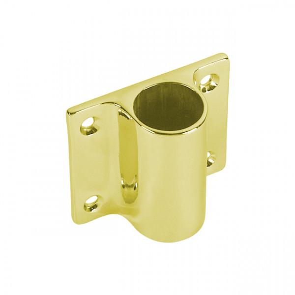 Foresti e Suardi-FS53B.L-Supporto in ottone in ottone giallo Lucido Ø 25 mm-30