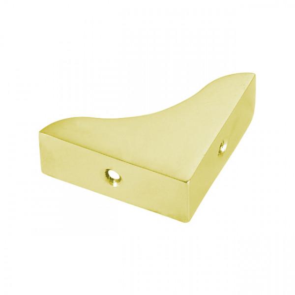 Foresti e Suardi-FS104B.L-Squadrette per mobili in ottone in ottone giallo Lucido 25 x 25 mm-30