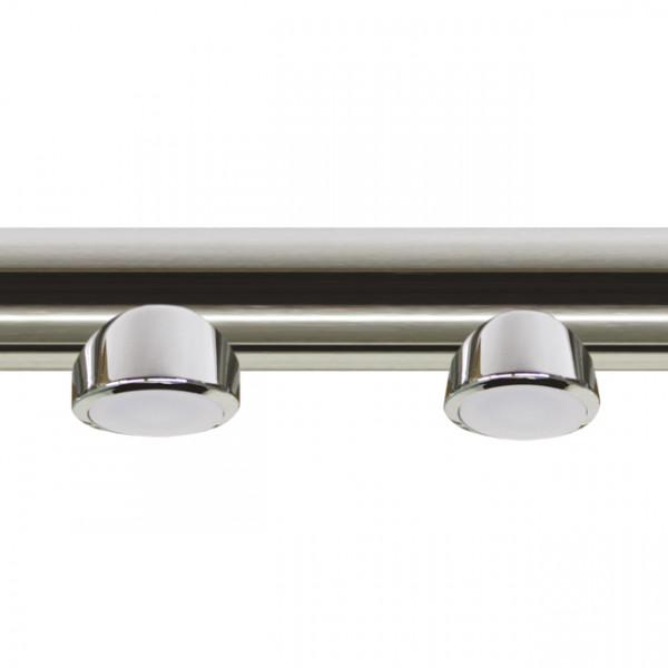 Foresti e Suardi-FS6161.C.P3200-MIRAM in ottone argento Cromato Power LED 1 .3200 °K PowerLed Bianco 30 mm-30